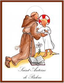 saint Antoine de Padoue.