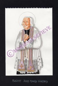 saint Curé d'Ars.