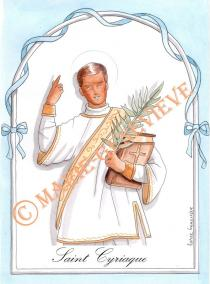 saint Cyriaque.