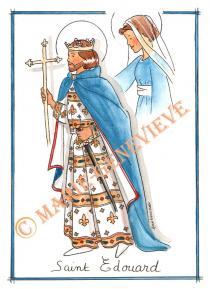 saint Edouard.