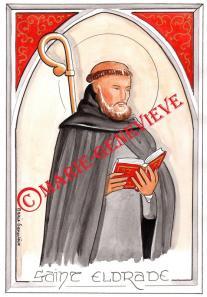 saint Eldrade.
