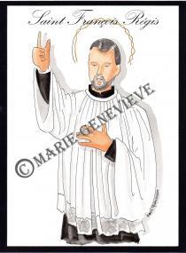 saint François  Régis.