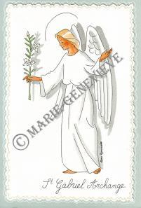 saint Gabriel.