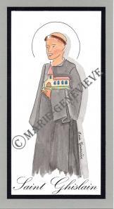 saint Ghislain.