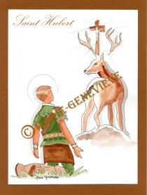 saint Hubert.