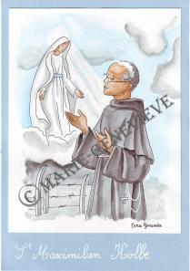 saint Maximilien Kolb.