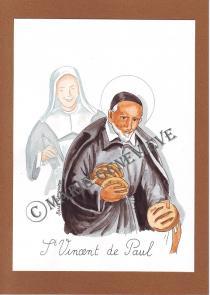 saint Vincent de Paul.