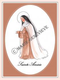 sainte Amicie.