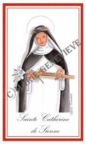 sainte Catherine de Sienne.