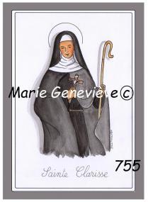 sainte Clarisse c