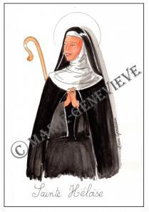 sainte Héloïse.