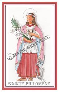 sainte Philomène 3.
