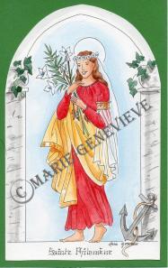sainte Philomène 4.