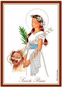sainte Prisca.