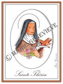 sainte Thérèse .